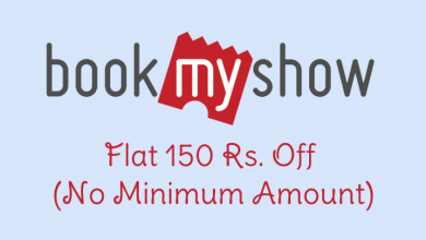 Bookmyshow MasterCard Offer - Flat Rs.150 Off