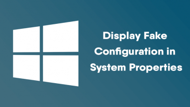 Display-Fake-Configuration-System-Properties